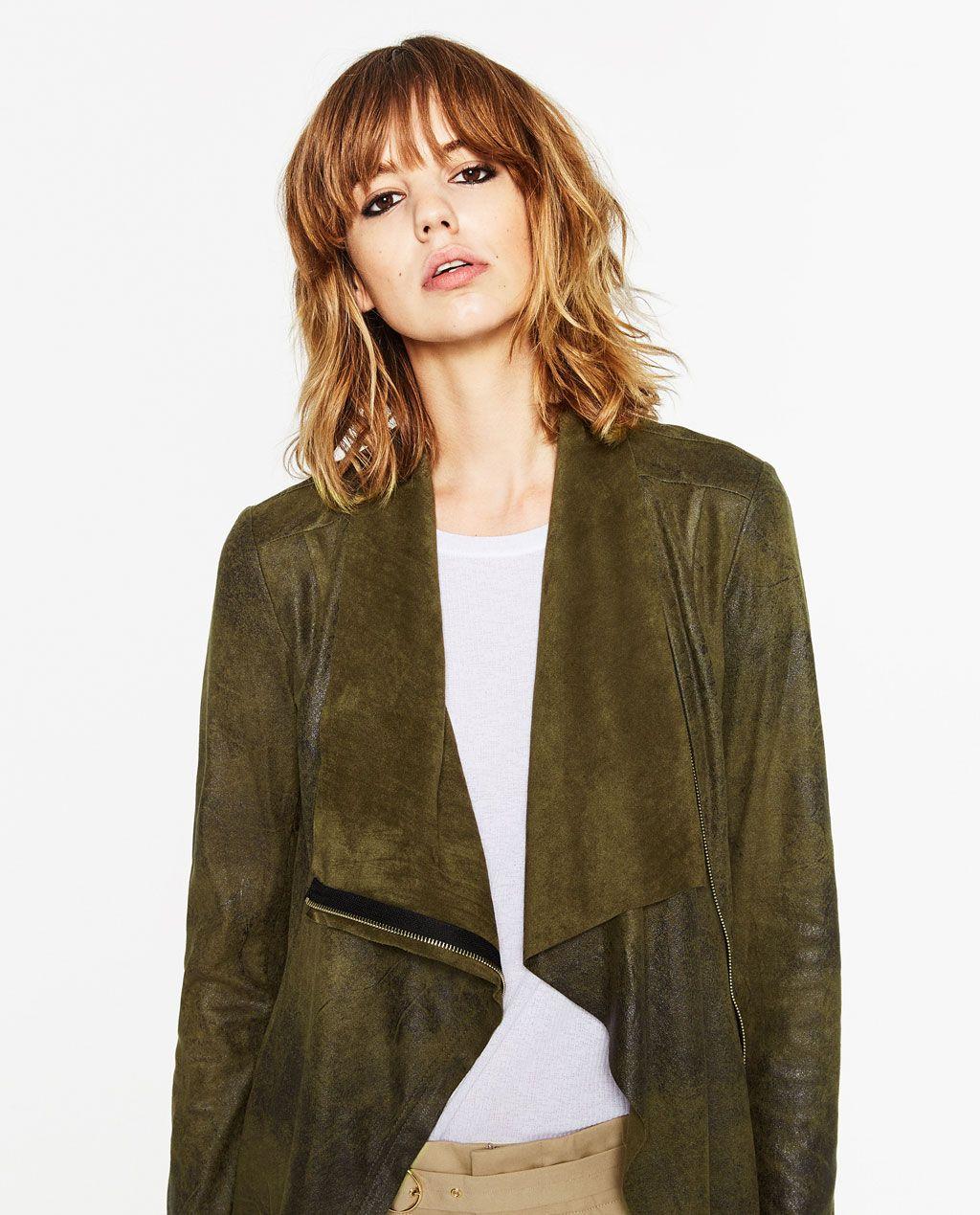 Style Effect JacketMy Suede Pinterest Zara Woman nvN80mw