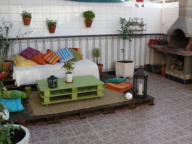 Guia de jardin: Construir un chill-out
