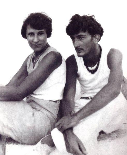Gala y Dalí.