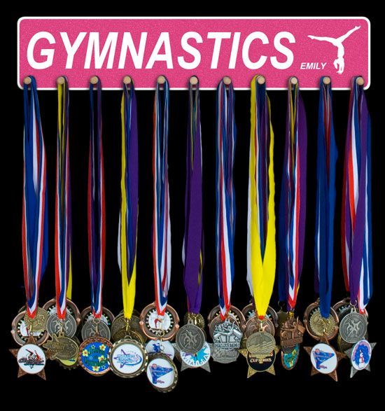 Gymnastics Medal Holders and Medal Hangers that can be