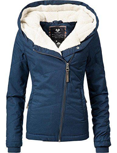 Ragwear Damen Jacke Winterjacke Ym Gordon Blau Gr Xs Mode Fur Frauen Modetrends Styling Tipps Fashion Mode Frauen Winterbekleidung Damen Jacken Winterjacken