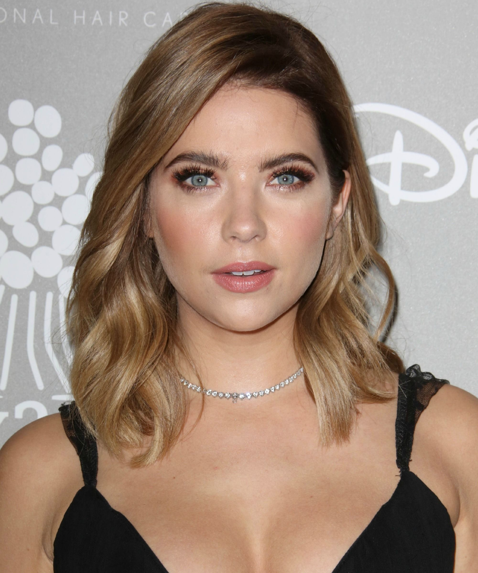 ashley benson makes a great edgy brunette | {wear} perfect