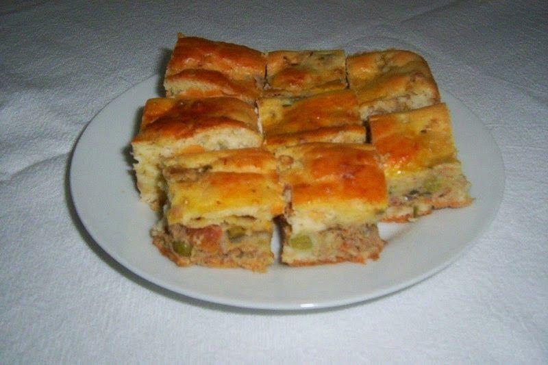 Culinária Passo a Passo: Torta Rápida de Atum