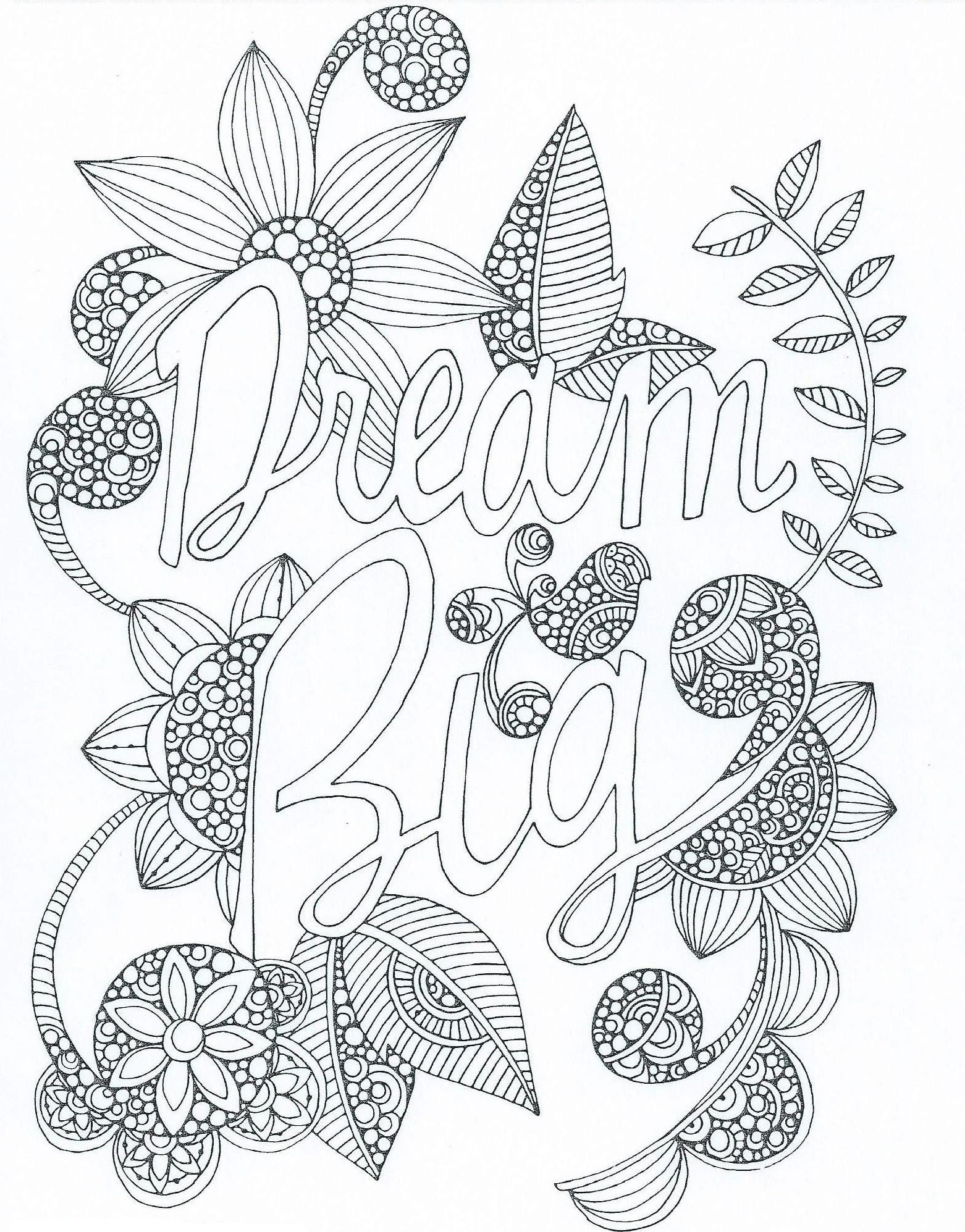 Zentangle | Quote coloring pages, Adult coloring pages ...