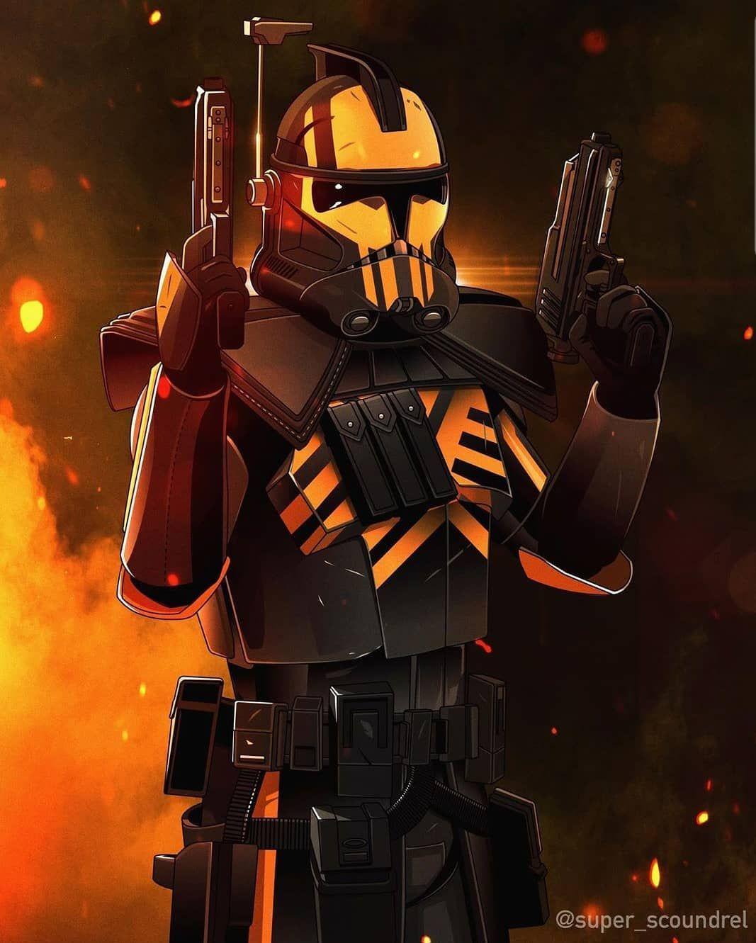 Clone Troopers United On Instagram Arc Trooper Battlefront Skin Art By Super Scoundrel Clonetr In 2020 Star Wars Wallpaper Star Wars Background Star Wars Images