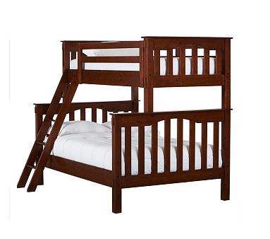 Kendall Twin Over Full Bunk Bed Tuscan Bunk Beds With