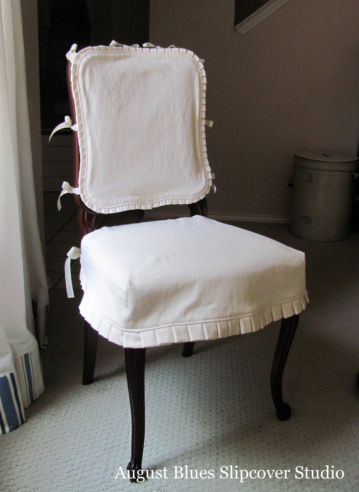 Inspired Dining Room Slipcovers Dining room chair