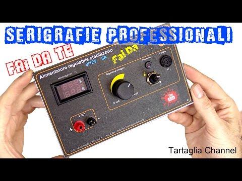 Stampe Plastificate Professionali Fai Da Te Per Strumenti Low Cost Tartaglia Channel Youtube Fai Da Te Elettronica Fai Da Te Progetti Arduino