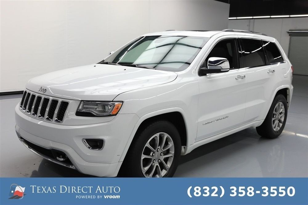 Ebay Jeep Grand Cherokee Overland Texas Direct Auto 2016 Overland