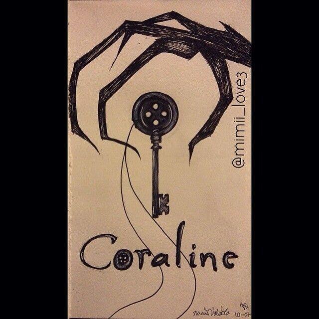 Coraline Coraline Drawing Coraline Art Tim Burton Art