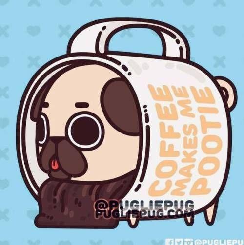 pug art wallpaper Pugs - #wallpaper - #MangaArt