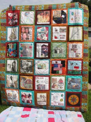 Custom Memory Quilt / T-shirt Quilt / Baby by Hearttoheartquilts ... : memorial quilt patterns - Adamdwight.com