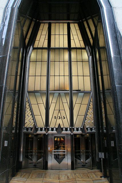 Chrysler Building Entrance With Images Chrysler Building Art