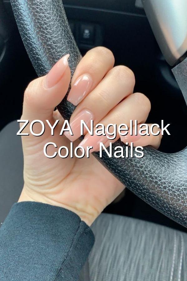 ZOYA Nagellack Neutral Color Nails NailiDeasTrends