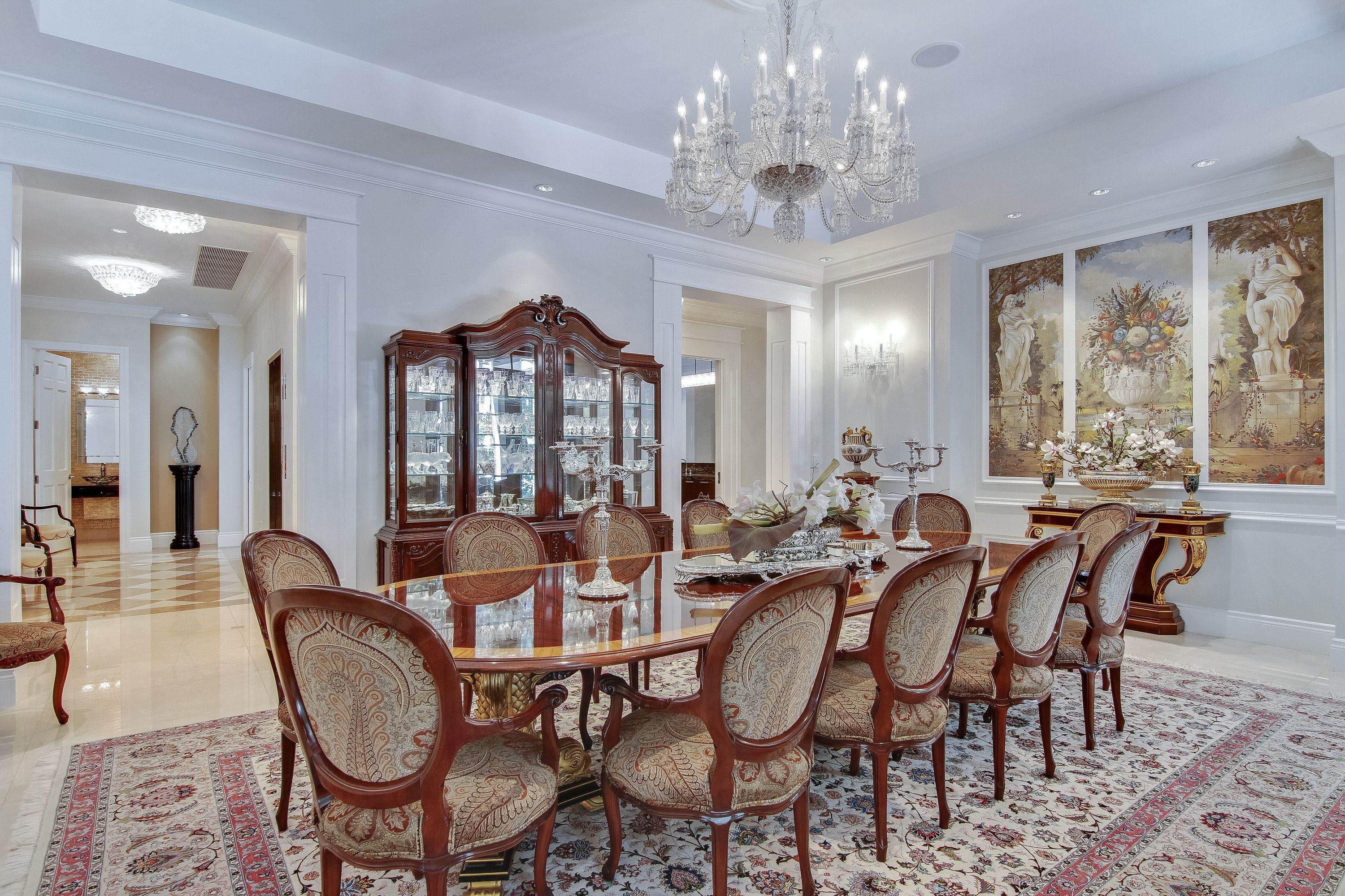 The Formal Dining Room At Villa Dwora Is Nothing Short