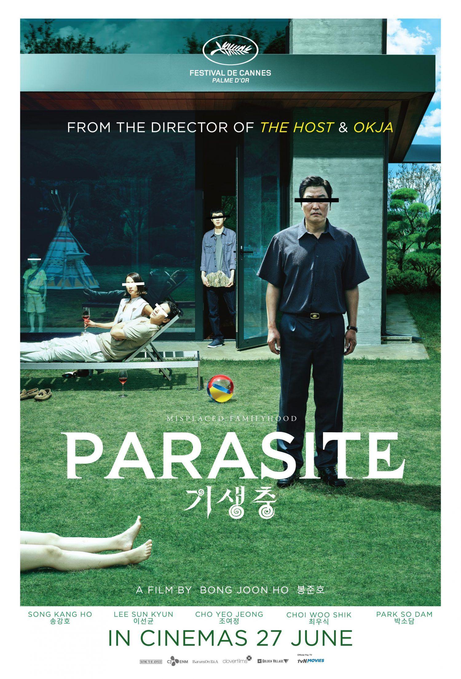 "Cannes Award-Winning Film, ""Parasite"" opens in Singapore Cinemas 27 June"