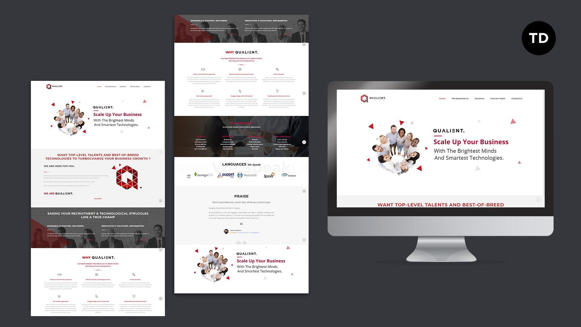 Web Design Company In Kondapur In 2020 Web Design Professional Website Design Professional Web Design