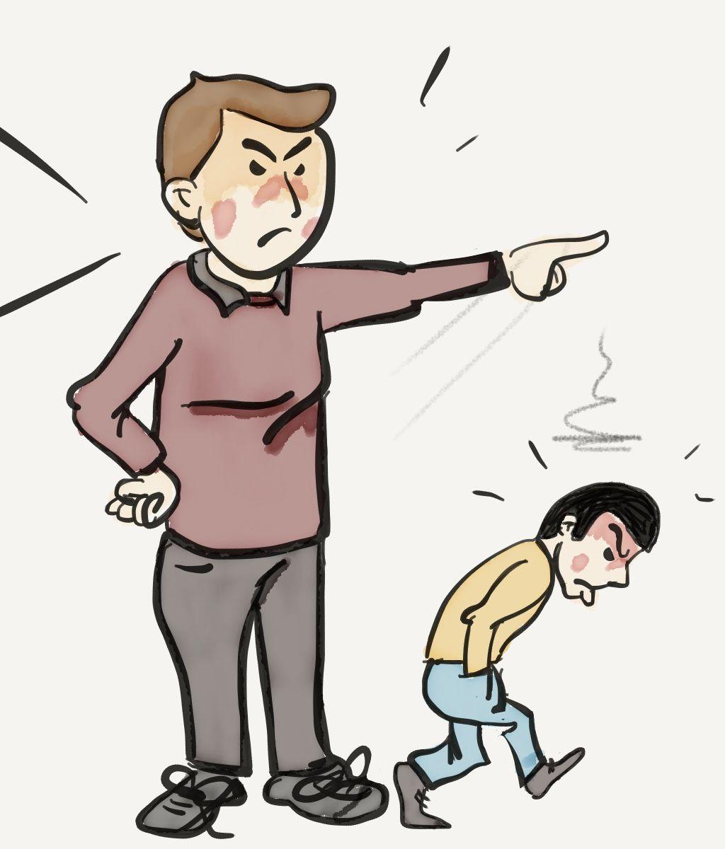 Los castigos. ¿Buenos o malos | Castigo, Malos, Dibujos