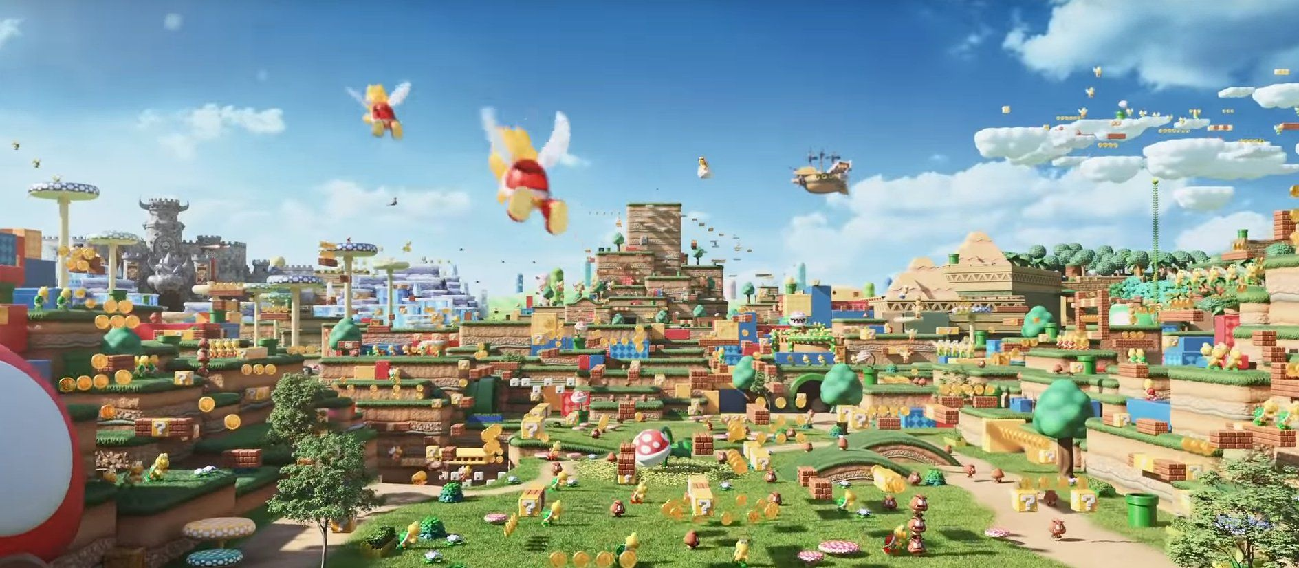 Universal Studios Japan Reveals More Information About Upcoming Super Nintendo World Attraction