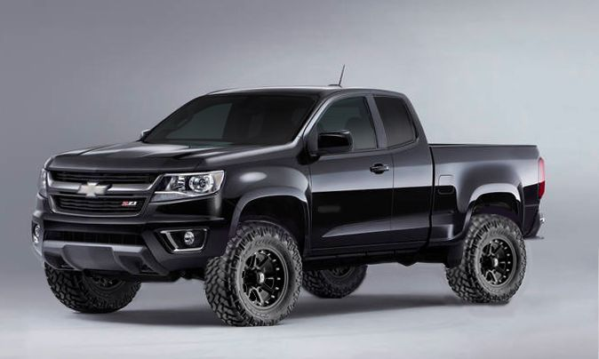 2015 Black Gmc Canyon Lifted Chevy Colorado Chevrolet Colorado