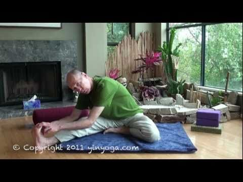 bernie clark  youtube how to do various yin yoga postures