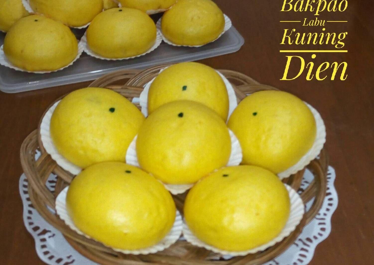 Resep Bakpao Labu Kuning Oleh Dapur Dien Resep Resep Resep Labu Kuning Labu