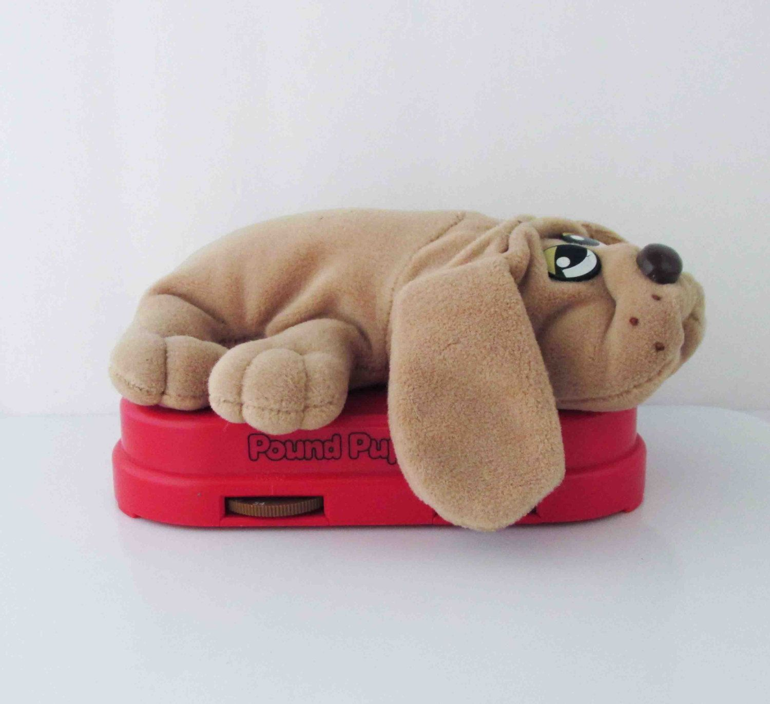 Pound Puppy Radio Plush Dog Toy 1980s Not Working