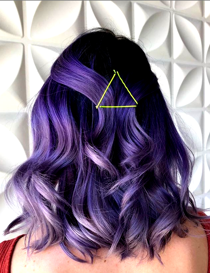 Lavendel Haarfarbe und Frisur Design, Ombre Lavendel Haarfarbe, lila Haare …