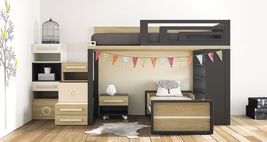 30 Modelli Di Camerette Salvaspazio Per Bambini E Ragazzi Room
