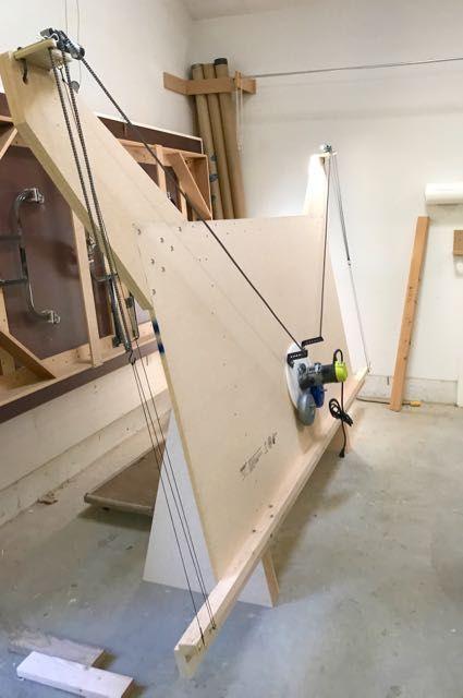 testing the maslow cnc jigs holz fr sen en holzbearbeitung. Black Bedroom Furniture Sets. Home Design Ideas