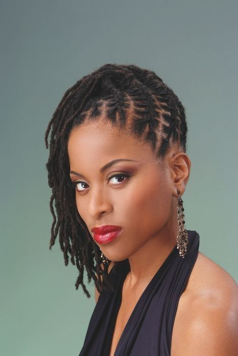 Dread Hairstyles Loc Styles For Medium Hair  Google Search  Cool Stuff  Pinterest