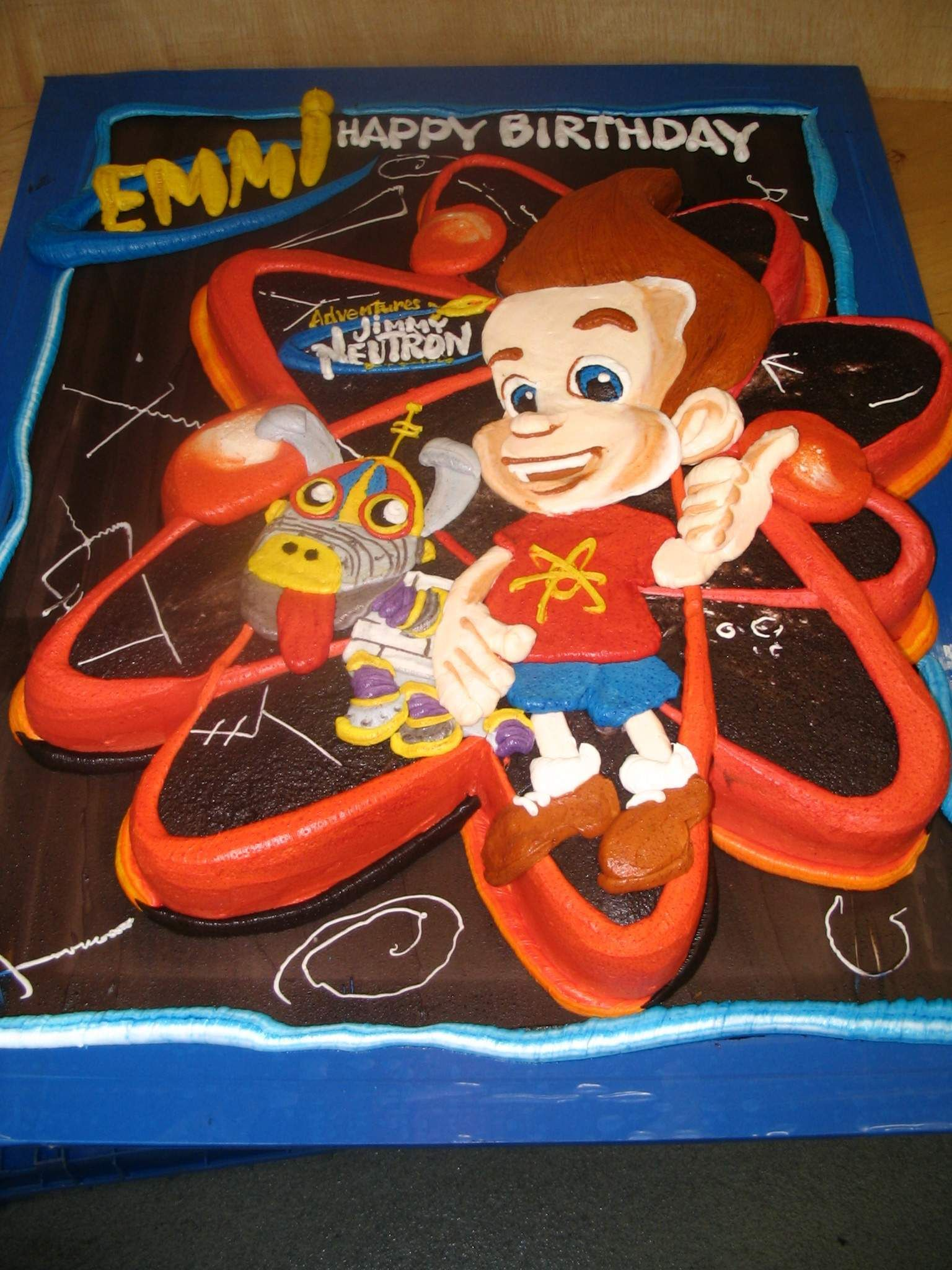 4aba95aa941 Jimmy Neutron Birthday Cake 49