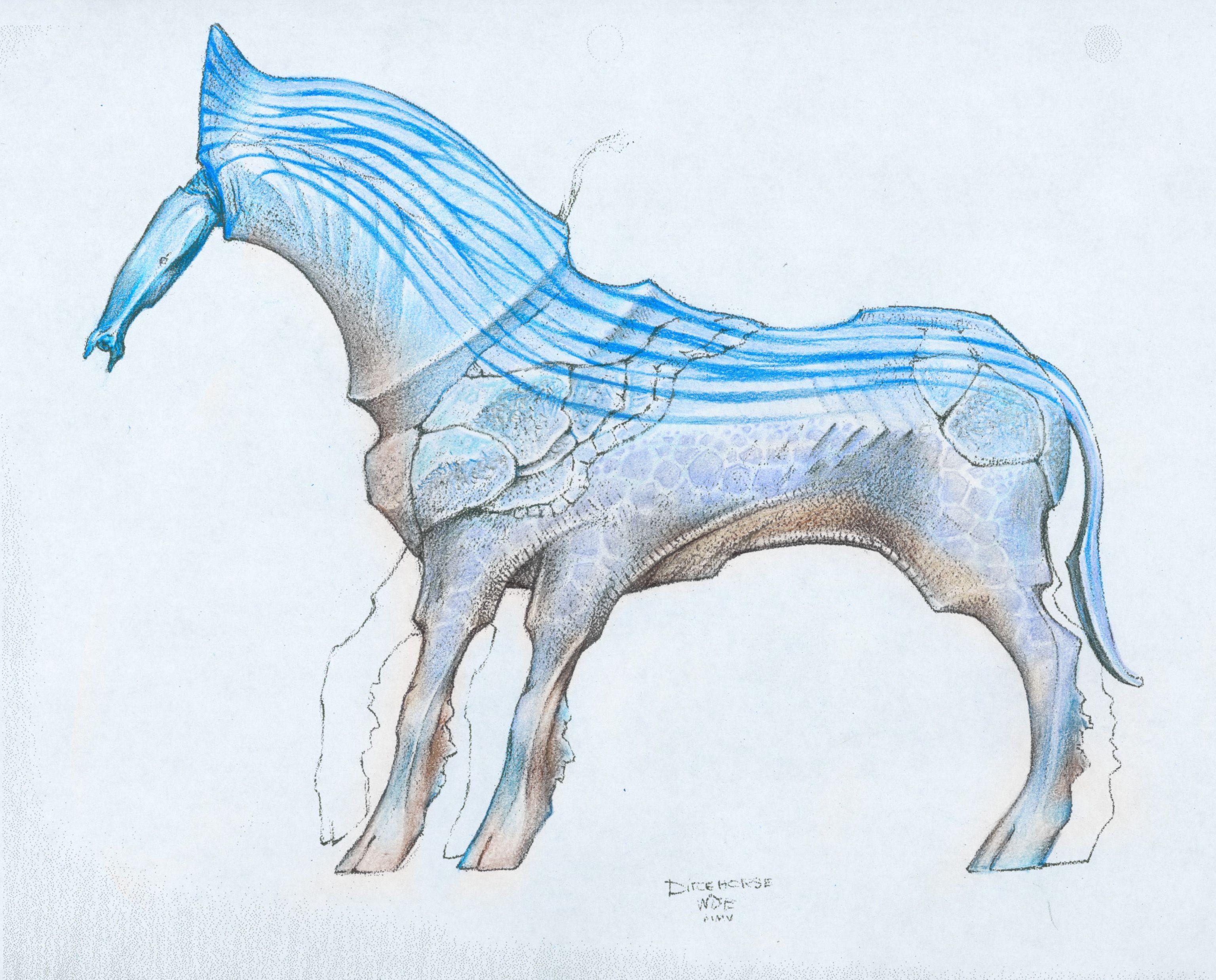 Wayne Barlowe Concept study for Avatar ARTIST WAYNE