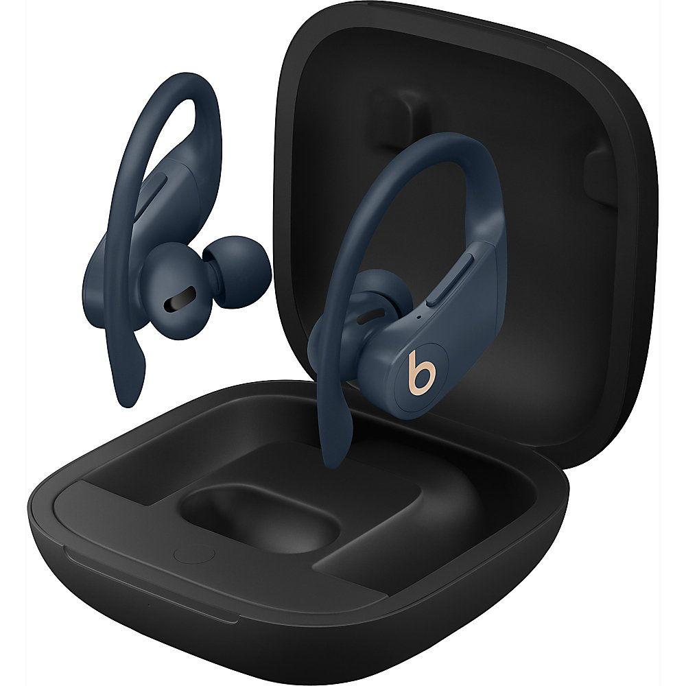 Beats By Dr Dre Powerbeats Pro Totally Wireless Earphones Navy Stereo Wireless Bluetooth Over The Ear Earbud Binaural In Ear Navy Wireless Earphones Headphone With Mic Earphone