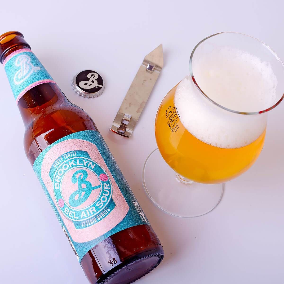 Bel Air Sour, an American Wild Ale by Brooklyn Brewery
