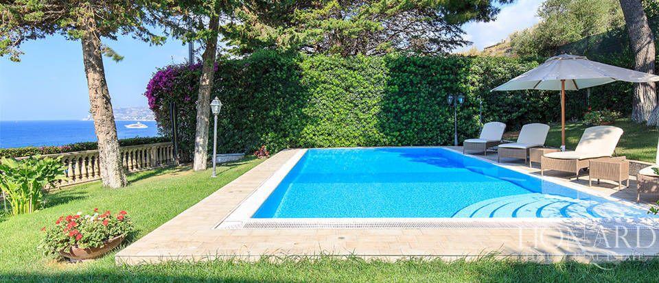 فيلا مع حمام سباحة وإطلالة بانورامية في سانريمو Image 5 Villa Pool Panoramic Views