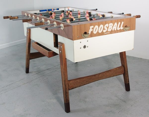 Vintage Foosball Table Made In Germany Play The Room