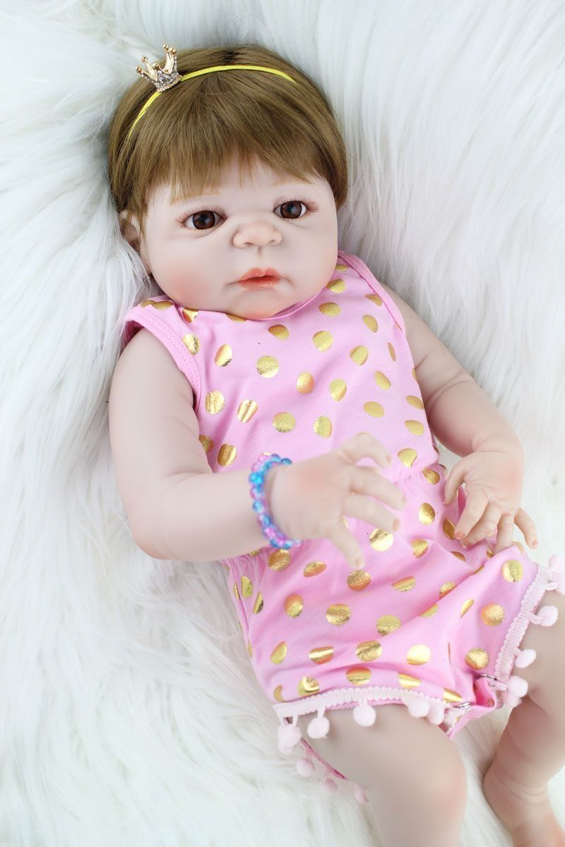 1b348e594 Boneca Reborn Helena Silicone Pode dar Banho - Boneca e Bebe Reborn BBs  Reborn