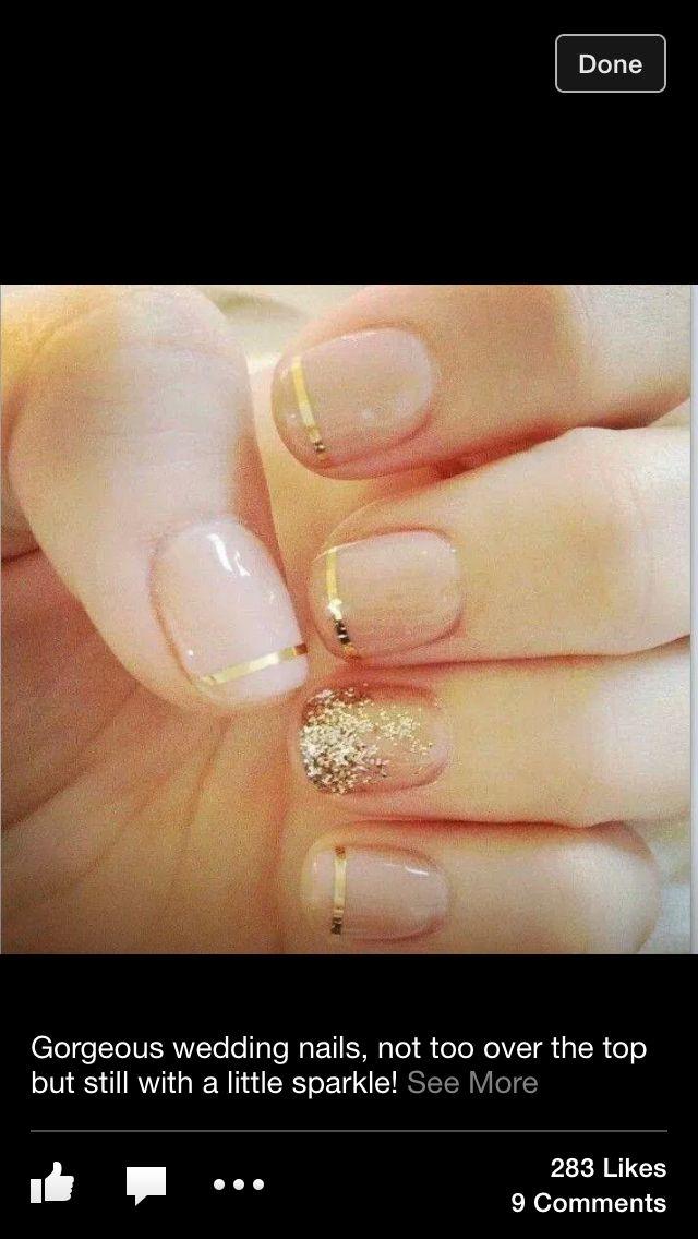 Wedding nails...