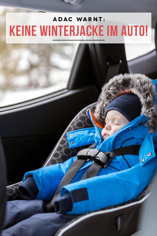 ADAC warnt: Darum sollten Kinder im Auto keine Winterjacke tragen ...