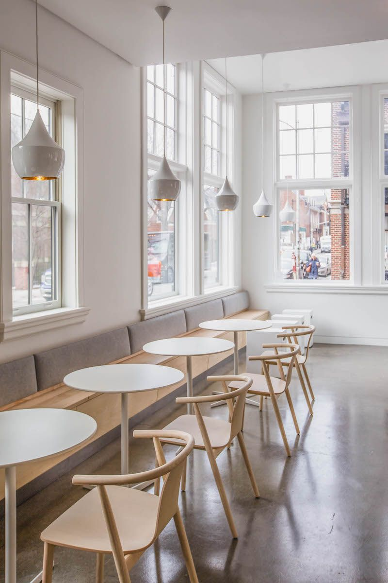 Blue Bottle Coffee Shop Is Opening In The Prudential This Year A Great Place To Meet Friends Before After C Coffee Shop Furniture Cafe Furniture Cafe Interior