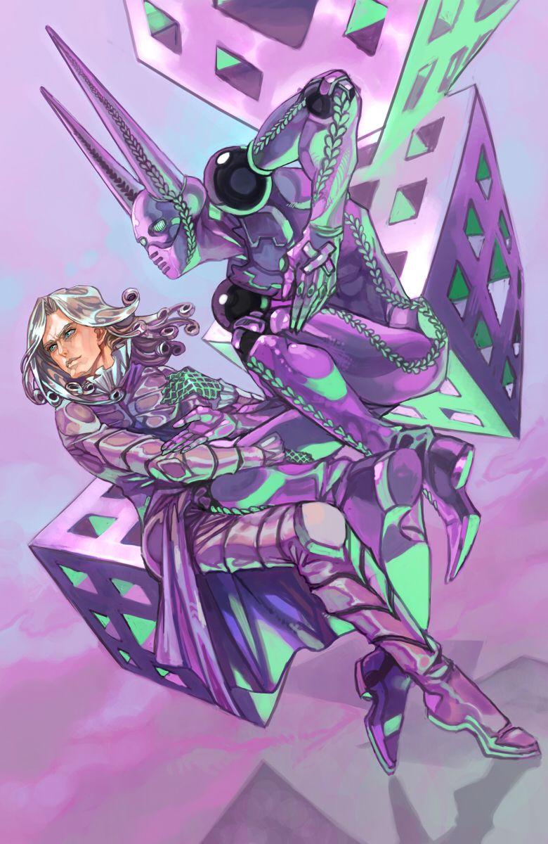 Entering His Cubist Phase Jojo Bizzare Adventure Anime Jojo S