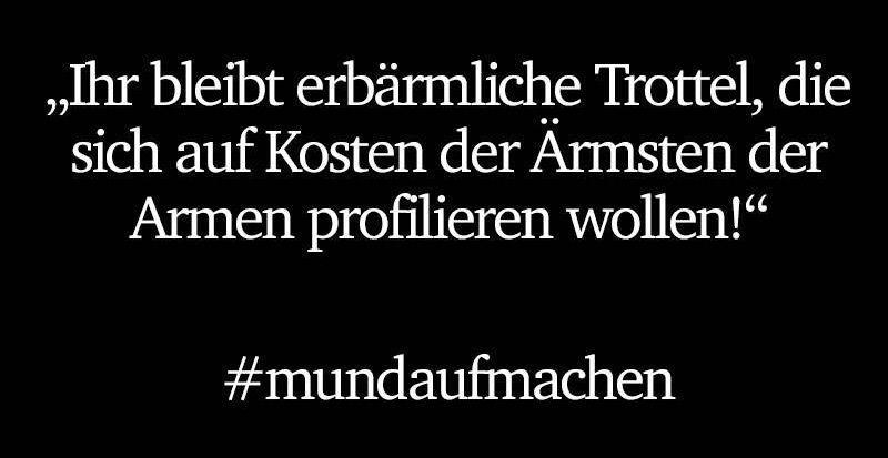 #mundaufmachen