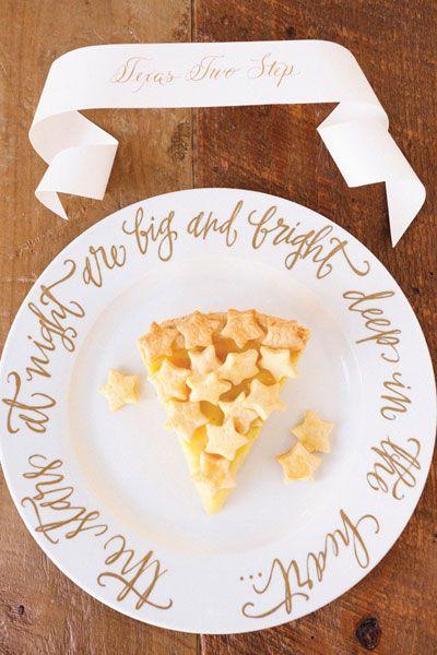 Sweet As Pie 17 Wedding Ideas