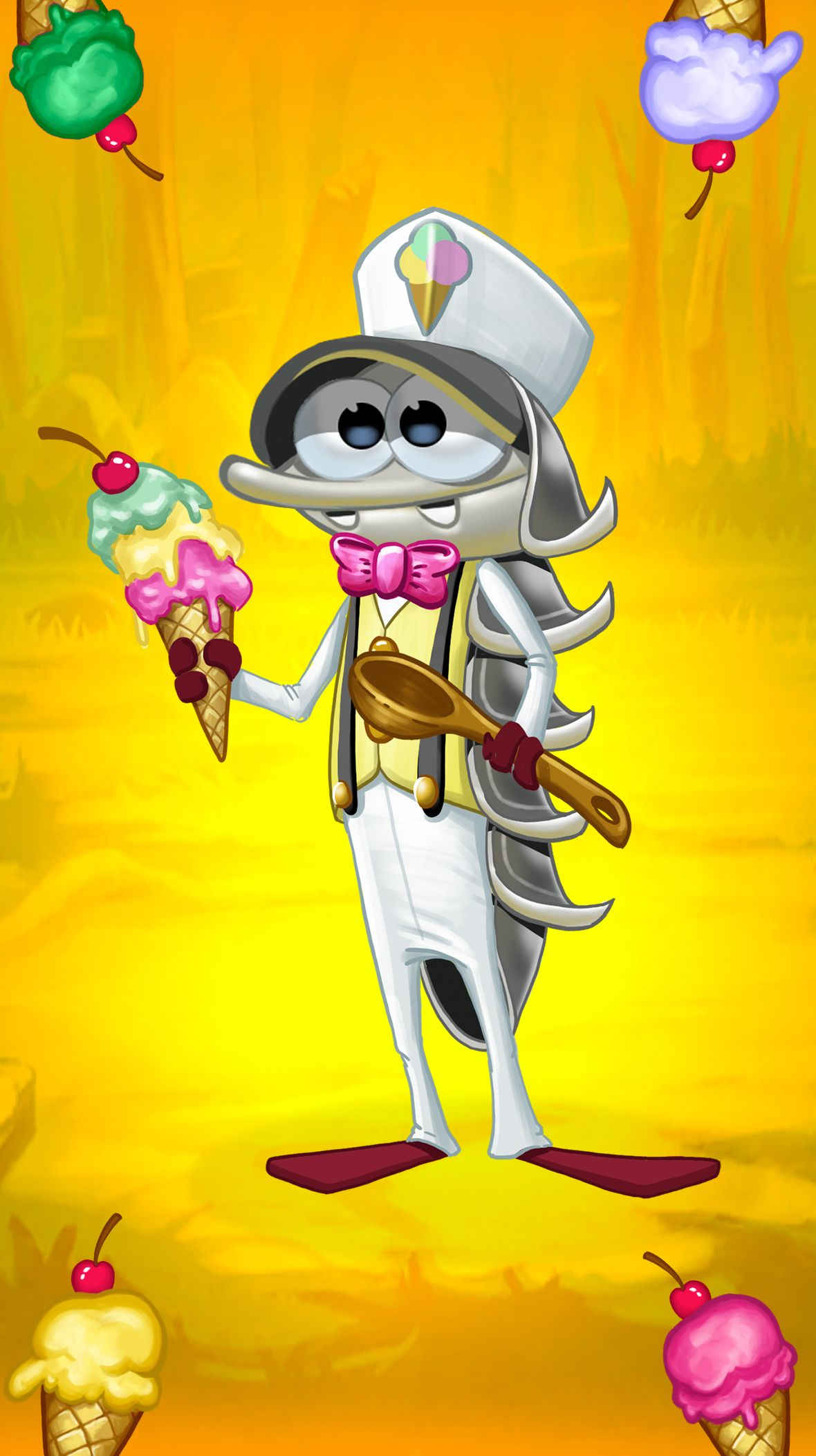 Summer is here! Save the dapper Sundae Suit Woody to be