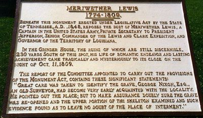 Meriwether Lewis (1774 - 1809) - Find A Grave Photos
