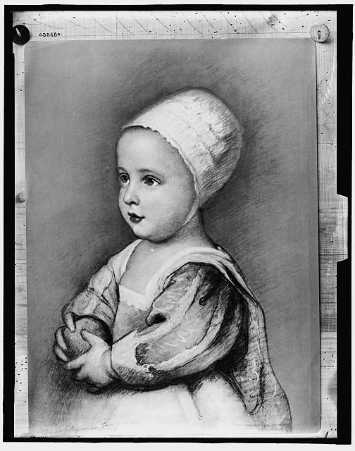 Corn Van Dijck.Baby Stuart Artist Sir Anthony Van Dyck Between 1900 And 1912