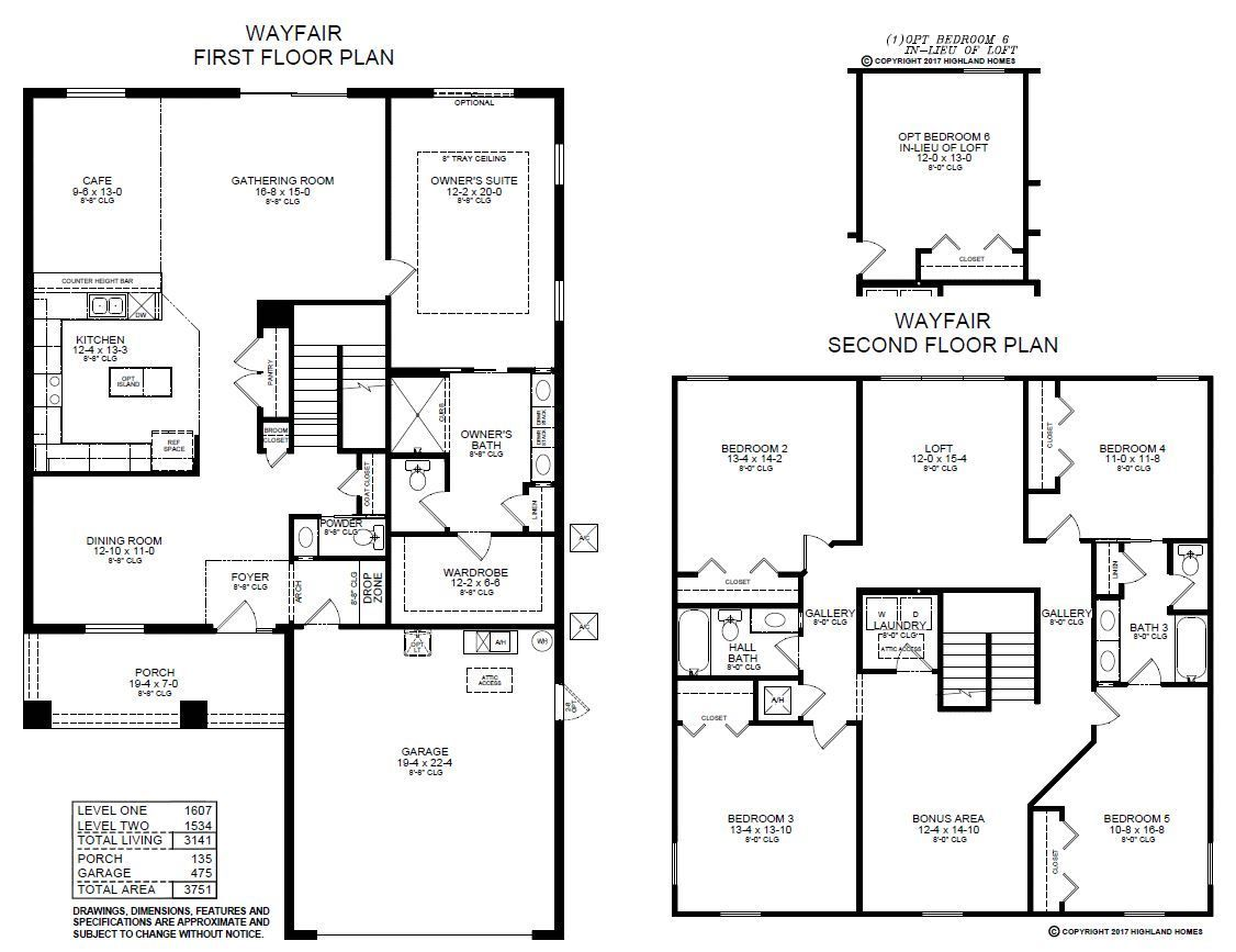Introducing The Wayfair A New Florida Home Plan By Highland Homes This Home Features 3 141 Sq Ft 5 Beds 3 5 Baths Highland Homes How To Plan Florida Home