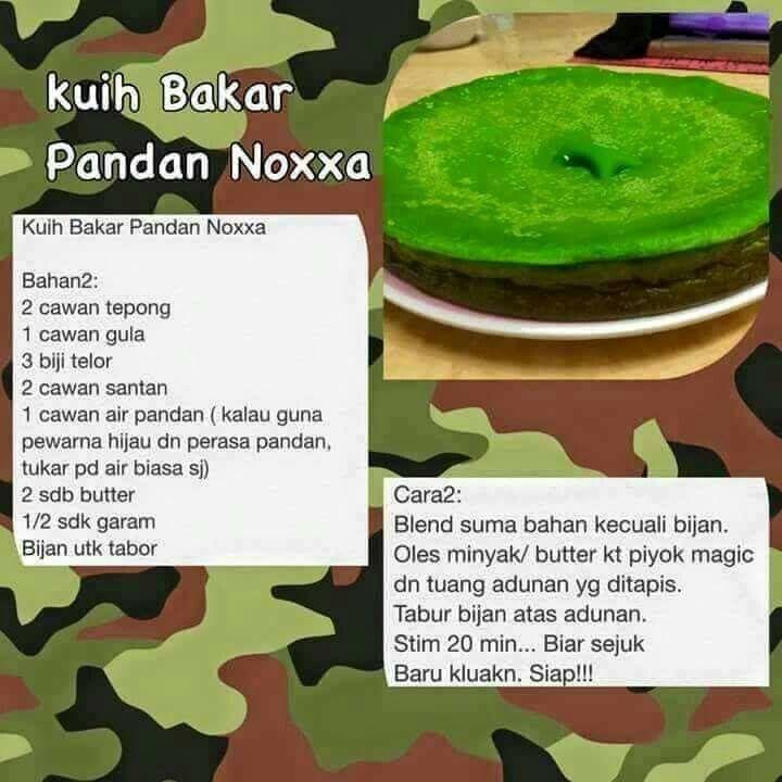 Kuih bakar | Pressure cooker recipes, Cooker recipes, Cake ...