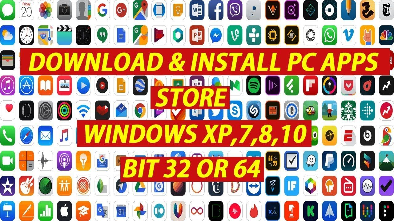 PC APPS STORE) How to download Play store app and install pc